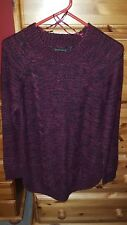 ladies knitted jumper size L
