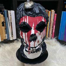 "Misfits Crimson Ghost / Fiend Skull Beanie Ski Mask ""NWT"" Horror Punk Hat"