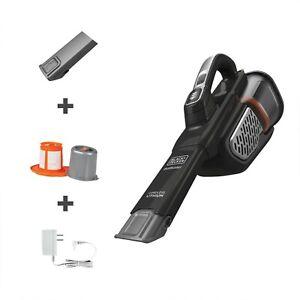 NIB BLACK & DECKER ADVANCED CLEAN+ HAND VAC | 20V BLACK HHVK515J00 Dust Buster!