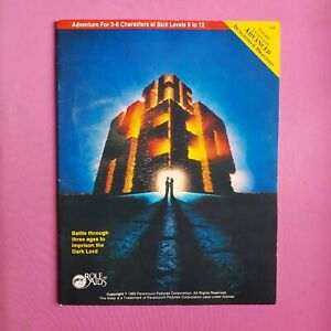 THE KEEP - 1983 ROLE AIDS MODULE OSR RPG ROLEPLAYING ADVANCED DUNGEONS & DRAGONS