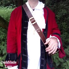 Pirate sword baldric belt larp cosplay theatre jack sparrow caribbean buccaneer