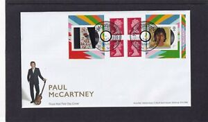 GB 2021 Paul McCartney retail stamp booklet RM FDC Cambletown Kintyremspecial pk