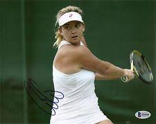 Coco Vandeweghe Sexy Tennis Signed Auto 8x10 PHOTO Beckett BAS COA