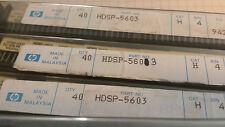 HP HDSP-5603 GREEN LED Display CAT H BIN 4 NEW Lot of 5 Free shipping!