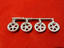 Model Car Parts MPC 1960's Style Custom Mag Wheels 1/25
