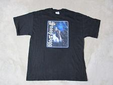 VINTAGE Snoop Dogg Shirt Adult Large Black Doggy Dogg Death Row Rap Tee 90s A34