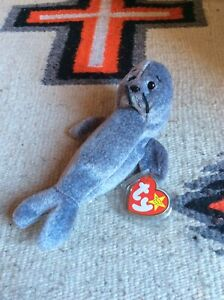 Vintage Ty Beanie Babies Slippery Errors