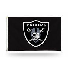 "Oakland Raiders NFL Banner Flag 3' x 5' (36"" x 60"") ~ NEW"