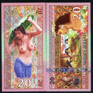 Pacific States of MMP, $20 2018 Private Issue Polymer - Weavers, Polynesian Nude