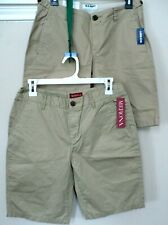Lot-2-Old Navy & Merona Boys Kid Classic Shorts (Sz 2 & 4) Nwt Uniform School