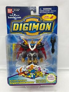 Digimon Imperialdramon Bandai Action Feature Figure New In Box