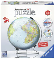 12436 Ravensburger The World on V-Stand 3D Puzzle 540pc Jigsaw Children 12+