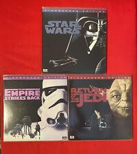 Laserdisc Star Wars Trilogie THX / USA
