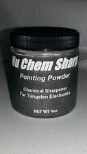 Nu Chem Sharp Pointing Powder Chemical Sharpener GTAW, TIG, and Heliarc