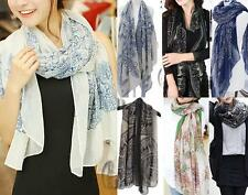 WHOLESALE BULK LOT OF 20 MIXED STYLE Wrap SCARF/SHAWL Beach Sarong sc061-64