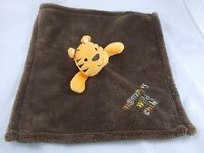 """Baby Gear Tiger Lovey Brown Security Blanket 14"""" Mommy's Wild Child"""