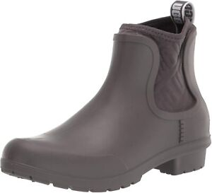 Womens UGG Chevonne Waterproof Ankle Boot - Charcoal [1110650]