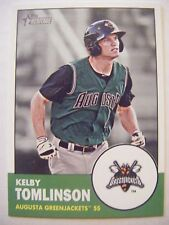 KELBY TOMLINSON RC 2012 Topps Heritage Minors baseball card GIANTS #184 ROOKIE