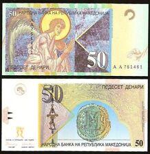 Macedonia 50 DENARI 1996 P 15 UNC
