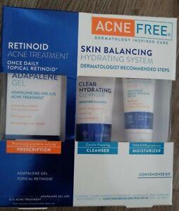 Acne Free Retinoid Skin Balancing Hydrating System Dermatologist EXP 12/2021