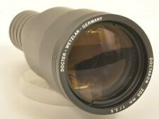 Docter Doctaron 3,5 / 200 Objektiv Projektionsoptik Diaprojektor Projector Lens