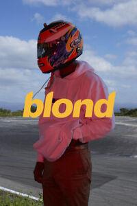 Frank Ocean Blond Rap Music Star Rapper Album Poster Wallpaper 42x61cm 60x90cm