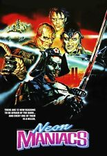 NEON MANIACS (1986) HORROR LIMITED EDITION FILM NEW UNCUT DVD EXCLUSIVE R4