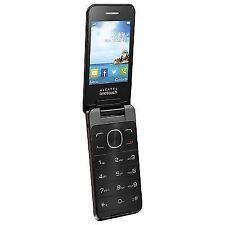 Alcatel One Touch 2012G (Unlocked) Flip Mobile Phone - White