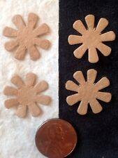 60 Flowers flower petals Tan Handmade mulberry paper Cards Scrapbook earthtones