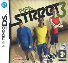 FIFA STREET 3 for Nintendo DS - with box & manual