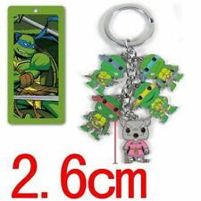 Teenage Mutant Ninja Turtles Characters 5 Pendant Key Chain Keyring Charm Hot
