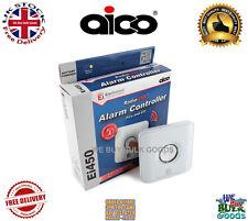 AICO Radiolink Ei450 Controlador de Alarma Contra Incendios Humo Calor Co2 control de prueba de botón