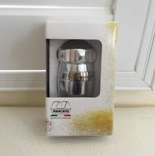 New listing Marcato Made in Italy Dispenser For Sugar Flour Cocoa Nutmug Powder Silver New
