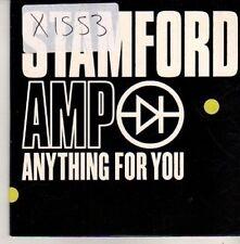 (CM438) Stamford Amp, Anything For You - 2002 DJ CD