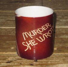 Murder, She Wrote Angela Lansbury Advertsing Titles MUG