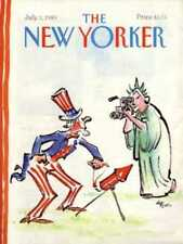 New Yorker COVER 07/03/1989  4th of July  LORENZ