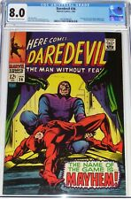 Daredevil #36 CGC 8.0 from Jan 1968 Fantastic Four & Trapster appearance