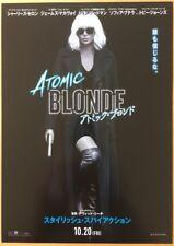 ATOMIC BLONDE ORIGINAL JAPANESE CHIRASHI MINI POSTER STYLE A