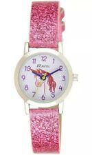 Unicorn Glitter Hot Pink Girls Watch By Ravel R1808. 1