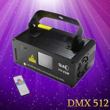Purple Laser Light DMX512 Control Beam Scan Light Show DJ Party Stage Club 150mW
