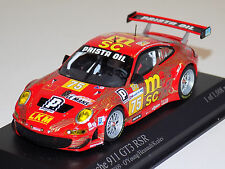 1/43 Minichamps Porsche 911 GT3 RSR car #75 24 Hours of LeMans 2009 O'Young