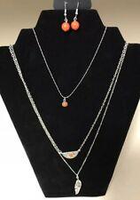 Paparazzi Sahara Sparrow Orange Necklace