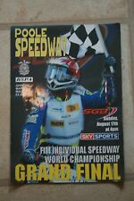 FIM SPEEDWAY GRAND FINAL HELD AT POOOLE SPEEDWAY