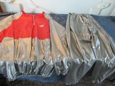 Vtg Bell Work-Out Suit Exercise Sauna Weight-Loss Pants Top Adult L/XL