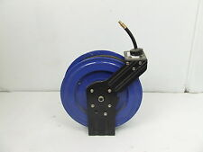 "Air Compressor Hose Retractable Reel Steel Industrial Rubber 3/8"" 15 Metres SALE"