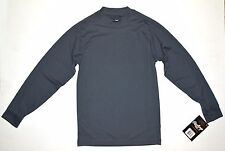New listing NWT Rawlings Youth S Microfiber Turtleneck Long Sleeves Moisture Wicking Gray