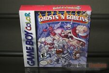 Ghosts 'n Goblins (Game Boy Color, 1999) H-SEAM SEALED & MINT! - ULTRA RARE!
