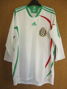 Maillot Mexique 2008 Adidas Federacion Mexicana Away Vintage Jersey - L