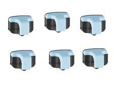 6 x HP02 Light Cyan for HP Printers Photosmart C6250 D7155 C7150 C7180 D7345