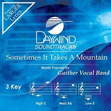 Gaither Vocal Band-Sometimes It Takes A Mountain-Accompaniment/Performance Track